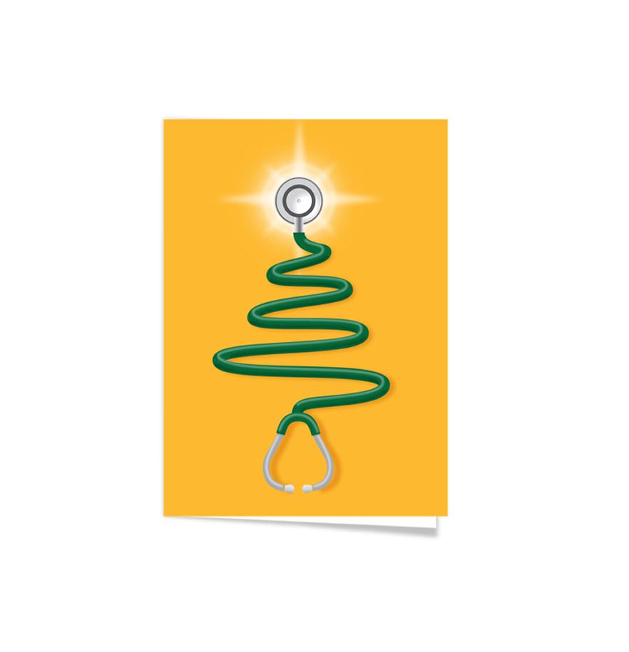 Baylor Nursing Christmas Card Stables Creative Graphics Design